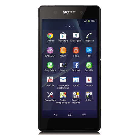 Sony Xperia<sup style='font-size:0.5em'>MD</sup> Z2