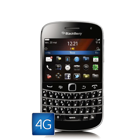 BlackBerry<sup style='font-size:0.5em'>MD</sup> Bold<sup style='font-size:0.5em'>MC</sup> 9900 4G