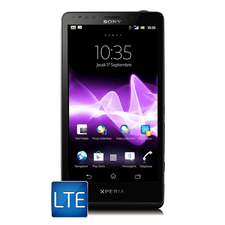 Sony Xperia<sup style='font-size:0.5em'>MC</sup> T