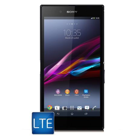 Sony Xperia<sup style='font-size:0.5em'>MD</sup> Z Ultra